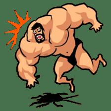 Super Muscle Man sticker #799426