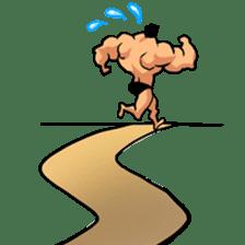 Super Muscle Man sticker #799428