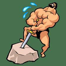 Super Muscle Man sticker #799429