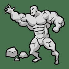 Super Muscle Man sticker #799431