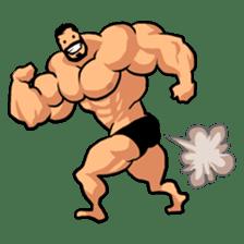 Super Muscle Man sticker #799432
