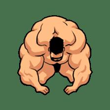 Super Muscle Man sticker #799435