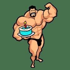Super Muscle Man sticker #799436