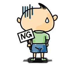 Narikiri CHIROTA(English version) sticker #825481