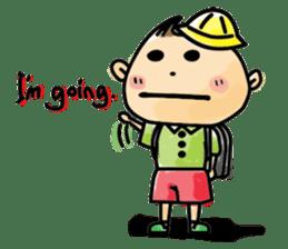 Narikiri CHIROTA(English version) sticker #825504