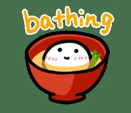 Talking rice cake sticker #846843