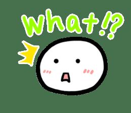 Talking rice cake sticker #846846