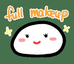 Talking rice cake sticker #846853