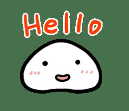 Talking rice cake sticker #846870