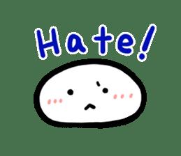 Talking rice cake sticker #846873