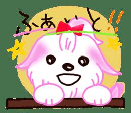 Sora sky blue, Love cerise sticker #874363