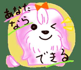 Sora sky blue, Love cerise sticker #874367