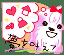 Sora sky blue, Love cerise sticker #874369