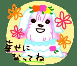 Sora sky blue, Love cerise sticker #874382