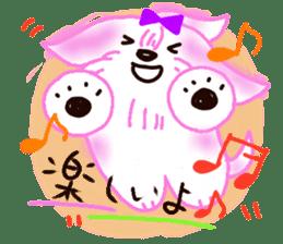 Sora sky blue, Love cerise sticker #874387
