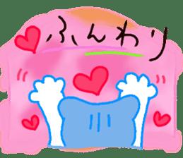 Sora sky blue, Love cerise sticker #874388