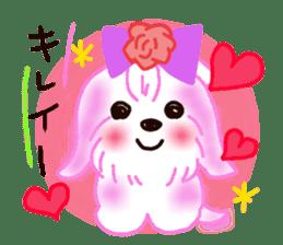 Sora sky blue, Love cerise sticker #874392