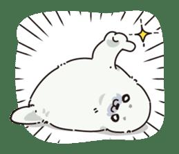 Animal stamp northern encourage sticker #1149589