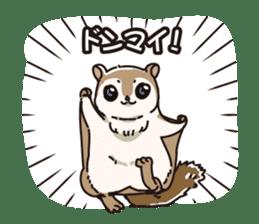 Animal stamp northern encourage sticker #1149594