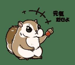 Animal stamp northern encourage sticker #1149600