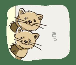 Animal stamp northern encourage sticker #1149604
