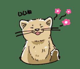 Animal stamp northern encourage sticker #1149623