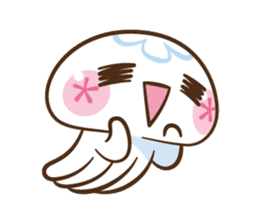 Clara the Jellyfish sticker #1192267