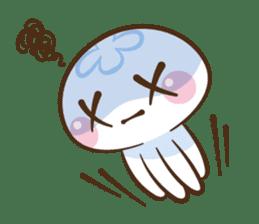 Clara the Jellyfish sticker #1192269