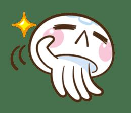 Clara the Jellyfish sticker #1192274