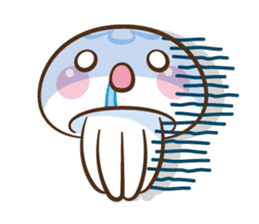 Clara the Jellyfish sticker #1192275
