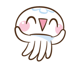 Clara the Jellyfish sticker #1192276