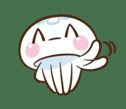Clara the Jellyfish sticker #1192281
