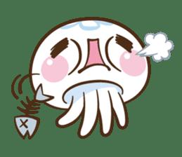 Clara the Jellyfish sticker #1192288