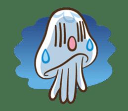 Clara the Jellyfish sticker #1192290