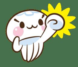 Clara the Jellyfish sticker #1192292