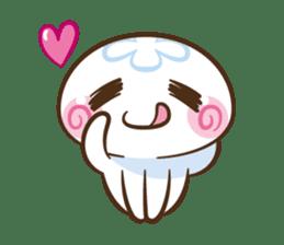 Clara the Jellyfish sticker #1192293