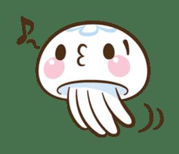 Clara the Jellyfish sticker #1192294