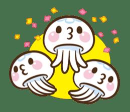 Clara the Jellyfish sticker #1192297