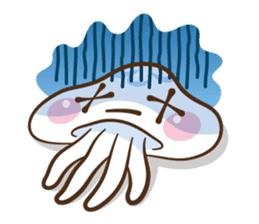 Clara the Jellyfish sticker #1192303