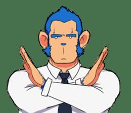 Monkey Muscle Guppo sticker #1372803