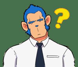 Monkey Muscle Guppo sticker #1372805