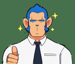 Monkey Muscle Guppo sticker #1372810