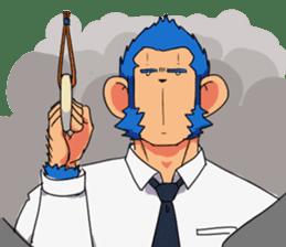 Monkey Muscle Guppo sticker #1372830