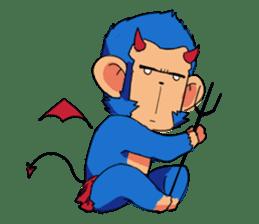 Monkey Muscle Guppo sticker #1372838
