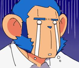 Monkey Muscle Guppo sticker #1372840