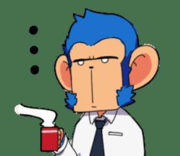 Monkey Muscle Guppo sticker #1372841