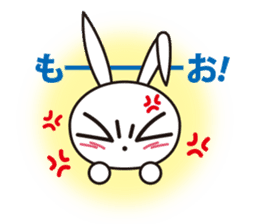 Angry Bunny sticker #2063379