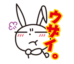 Angry Bunny sticker #2063382