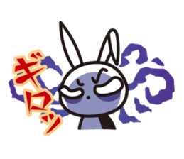 Angry Bunny sticker #2063399