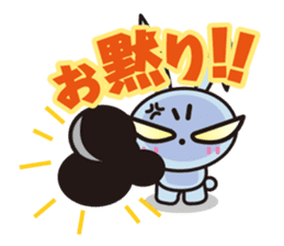 Angry Bunny sticker #2063402